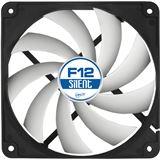 Arctic F12 Silent 120x120x25mm 800 U/min 20 dB(A) schwarz/weiß