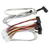 Adaptec mini SAS HD x4 (SFF-8643) auf 4x SAS (SFF-8482) Kabel, 0.8m