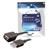 (€1,30*/1m) 3.00m MediaRange USB2.0 Verlängerungskabel