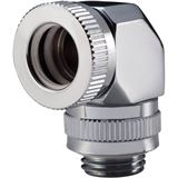Phanteks Rotary Hard Tube Fitting 12mm 90 Grad G1/4 chrome drehbar