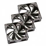 SilenX iXtrema Pro 3er Pack 92x92x25mm 1300 U/min 11 dB(A) transparent