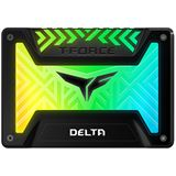 "250GB TeamGroup T-Force Delta RGB 2.5"" (6.4cm) SATA 6Gb/s 3D-NAND TLC (T253TR250G3C313)"