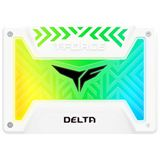 "250GB TeamGroup T-Force Delta RGB 2.5"" (6.4cm) SATA 6Gb/s 3D-NAND TLC (T253TR250G3C413)"