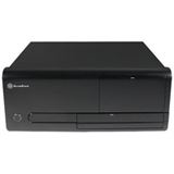 Silverstone La Scala LC20 Desktop ohne Netzteil schwarz
