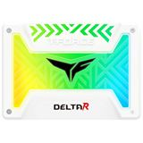 """500GB TeamGroup T-Force Delta R 2.5"""" (6.4cm) SATA 6Gb/s 3D-NAND TLC (T253TR500G3C415)"""
