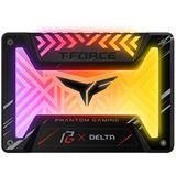 "1000GB TeamGroup T-Force Delta Phantom Gaming RGB, schwarz 2.5"" (6.4cm) SATA 6Gb/s 3D-NAND TLC (T253PG001T3C313)"