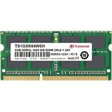 4GB Transcend DDR3-1600 SO-DIMM CL11 Single
