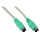 (€2,45*/1m) 2.00m InLine PS/2 Anschlusskabel PS/2 Stecker auf