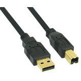 (€1,63*/1m) 3.00m InLine USB2.0 Anschlusskabel Premium-Line USB