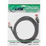 (€1,38*/1m) 5.00m InLine Cat. 6 Patchkabel Crossover S/FTP RJ12