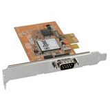 Schnittstellenkarte 1x Seriell 9-pol, PCIe (PCI-Express)
