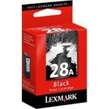 Lexmark Druckkopf mit Tinte 28A 18C1528E schwarz