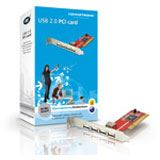 Conceptronic I/O PCI USB 2.0 4+1Port
