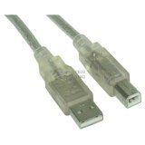 10.00m InLine USB2.0 Anschlusskabel USB A Stecker auf USB B Stecker