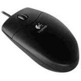 Logitech Value Optische Maus Schwarz PS2/USB