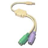 Revoltec HUB USB zu PS2 Adapter retail