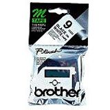 Brother MK221 Schriftbandkassette 9mm 8m black/white f. P-touch55 60