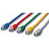 (€0,49*/1m) 10.00m InLine Cat. 5e Patchkabel FTP RJ45 Stecker