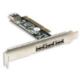 Manhattan 4xUSB PCI 3x ext 1x int