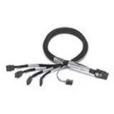 (€26,90*/1m) 1.00m Adaptec SAS Anschlusskabel SFF-8087 Stecker