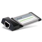 Belkin Interface RJ45/Gigabit Ethernet 1 Port ExpressCard