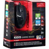Speedlink Kudos Laser Gaming Maus Schwarz USB