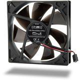 Noiseblocker NB-BlackSilentPRO PL-2 120x120x25mm 1400 U/min 20 dB(A) schwarz