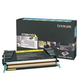 Lexmark Toner C736H1YG Gelb