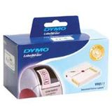 Dymo LW yellow pink blue