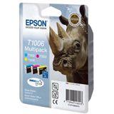 Epson T1006 Tintenpatrone dreifarbig Standardkapazität 3 x