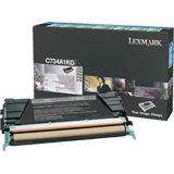 Lexmark Toner C734A1KG Schwarz