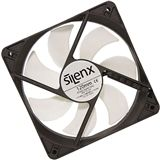 SilenX Effizio Thermistor Fan Series 120x120x25mm 1400 U/min 15 dB(A) schwarz/weiß