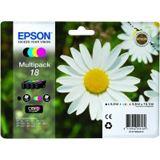 Epson Tinte C13T18064010 cyan, magenta, gelb