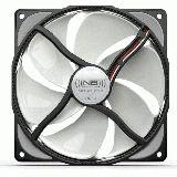 Noiseblocker NB-eLoop S-Series B12-1 120x120x25mm 800 U/min 8 dB(A) schwarz/weiß