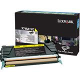 Lexmark Toner X746A1YG gelb