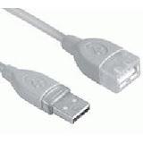 (€1,95*/1m) 2.00m InLine USB2.0 Verlängerungskabel USB A