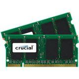 4GB Crucial CT2KIT25664AC800 DDR2-800 SO-DIMM CL6 Dual Kit