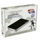 "LC-Power LC-25U3B Elektra 2.5"" (6,35cm) USB 3.0 schwarz"