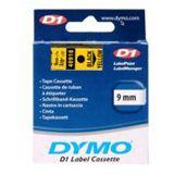 Dymo 40918 Label Cassette 9mm x 7m schwarz/gelb