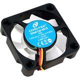 Cooltek Silent Fan 4010 40x40x10mm 4000 U/min 12.8 dB(A) schwarz/weiß