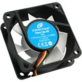 Cooltek Silent Fan 60x60x25mm 2000 U/min 13.2 dB(A) schwarz/weiß
